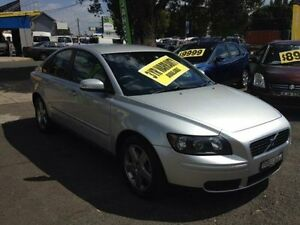 2007 Volvo S40 M Series MY07 D5 Silver 5 Speed Automatic Sedan Lidcombe Auburn Area Preview