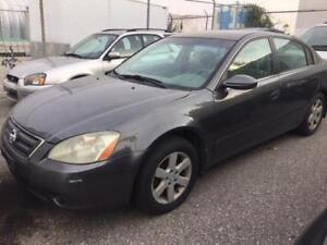 2004 NISSAN ALTIMA 2.5 L/4 CYLINDER Engine/Automatic/AS IS
