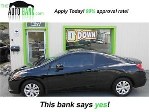 2012 Honda Civic Cpe LX| GET APPROVED TODAY!