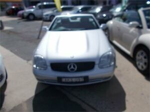 1998 Mercedes-Benz SLK230 Kompressor Silver 5 Speed Automatic Convertible Fyshwick South Canberra Preview