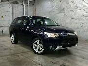 2014 Mitsubishi Outlander ZJ MY14.5 ES 2WD Dark Blue 6 Speed Constant Variable Wagon Mile End South West Torrens Area Preview