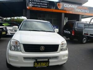 2003 Holden Rodeo RA LX Space Cab White 5 Speed Manual Cab Chassis