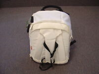 Mint White & Black Manfrotto Professional Camera Backpack