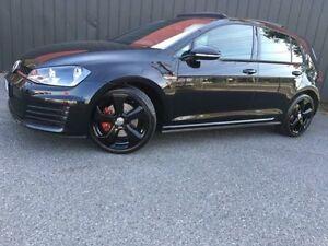 2013 Volkswagen Golf VII MY14 GTi Black Auto Dual Clutch Hatchback Moorabbin Kingston Area Preview