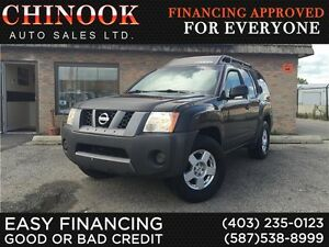 2007 Nissan Xterra S V6 RWD No Accidents,Hitch,Roof Rack,Cruise