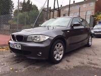 BMW 1 SERIES 2.0 118i ES 2006,5dr,new MOT, Contact me: 07407851698