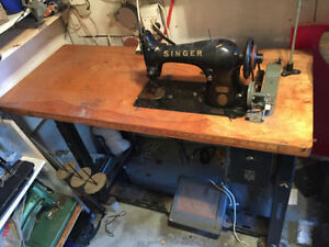 machine a coudre singer antique sewing machine