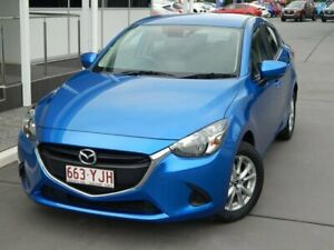 2018 Mazda 2 DL2SAA Maxx SKYACTIV-Drive Blue 6 Speed Sports Automatic Sedan North Lakes Pine Rivers Area Preview