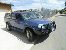 1999 Nissan Navara D22 S2 DX Blue 5 Speed Manual Utility Mount Lawley Stirling Area Preview