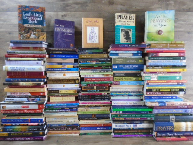 HUGE lot (181) Prayer Books - Christianity - Religion - Angels - Miracles by