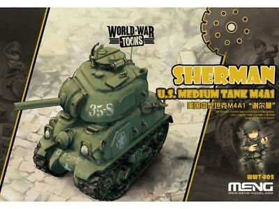 Meng Model na WWT-002 US Medium Tank Sherman - World War Toon