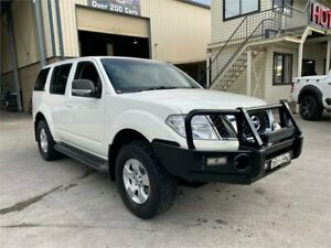 2010 Nissan Pathfinder R51 MY08 ST White 6 Speed Manual Wagon Greystanes Parramatta Area Preview
