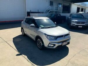 2018 Ssangyong Tivoli X100 MY19 Ultimate (AWD) Silent Silver 6 Speed Automatic Wagon Hendra Brisbane North East Preview