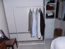 White hanging clothes rack Strathfield South Strathfield Area Preview