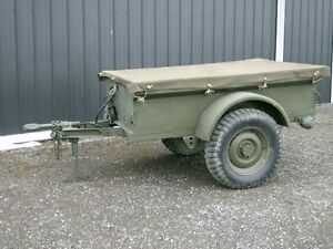 M100 Military Jeep Trailer