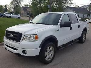 2008 FORD F-150 FX4 OFF ROAD |  CREW | LEATHER | 4X4 | SUNROOF