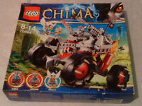 LEGO Legends Of Chima (50006) Board Game & (70004)