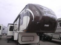 COMPLETELY LOADED LUXURIOUS NEW 2014 EAGLE 351 RLTS FIFTH WHEEL