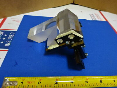Microscope Part Head Prism Assembly For Reichert Austria Polyvar As Is 65-a-24