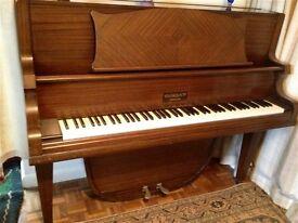 Rare Morley Upright Grand Piano