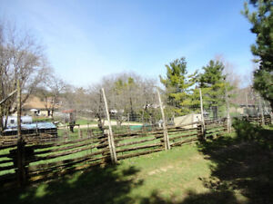 1/2 Acre 12' Tall Fenced Area for Rent in Formosa -Monthly Rent Kitchener / Waterloo Kitchener Area image 5