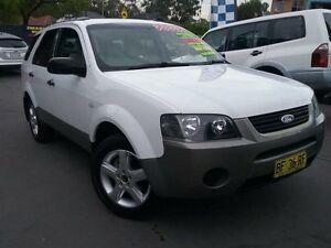 2007 Ford Territory SY TX (RWD) White 4 Speed Auto Seq Sportshift Wagon Greenacre Bankstown Area Preview