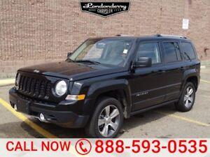 2017 Jeep Patriot 4WD HIGH ALTITUDE Navigation (GPS),  Leather,