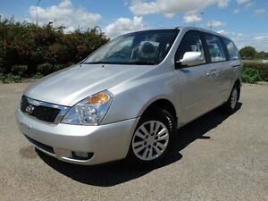 2013 Kia Grand Carnival VQ MY14 S Silver 6 Speed Automatic Wagon Bungalow Cairns City Preview
