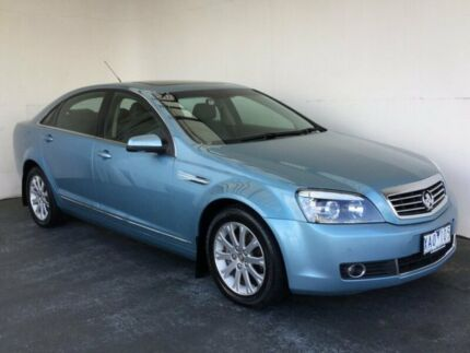 2009 Holden Statesman WM MY09.5 V6 Blue 5 Speed Sports Automatic Sedan