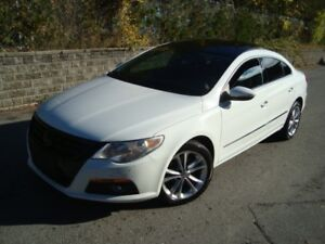 2012 Volkswagen PASSAT CC SPORT LINE WITH LEATHER AND ROOF