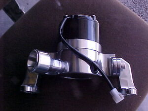 CHEV SB ELECTRIC WATER PUMP HIGH VOLUME PERFORMANCE