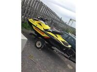 2015 Seadoo RXT-X 260 with Boarding Ladder
