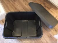 Outdoor storage boxes x 4 - £20 - London E7 - Collect only