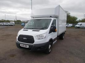 Ford Transit 2.2 TDCI HEAVY DUTY LUTON WITH TAIL-LIFT DIESEL MANUAL WHITE (2016)