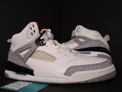 best sneakers c55bd 1bbd7 ... JORDAN SPIZIKE WHITE CEMENT COOL GREY BLACK FIRE RED 315371-101 DS 10.5  NIKE AIR JORDAN SPIZIKE WHITE CEMENT COOL GREY BLACK FIRE RED 315371-101 DS  10.5