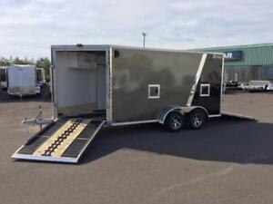 NEW 2018 XPRESS 7' x 19' ALL-SPORT ALUMINUM ENCLOSED TRAILER
