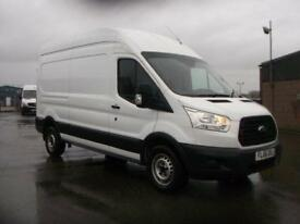 Ford Transit T350 LWB HIGH ROOF VAN 125PS DIESEL MANUAL WHITE (2016)