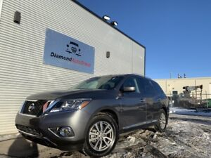2015 NISSAN PATHFINDER SL, 4X4, HEATED SEATS, SUNROOF