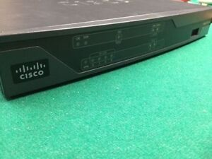 Cisco 881 ISR Router with Advanced Security license