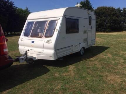 UK British lightweight Bailey Ranger 380/2 Caravan - free awning Goulburn Goulburn City Preview