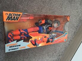 Due to Time wasters -Action Men from the 80s &90s maj- boxed in exc condition to many to list