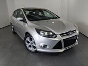 2012 Ford Focus LW Sport Silver 5 Speed Manual Hatchback Elizabeth Playford Area Preview
