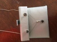peoples Earrings and necklace set