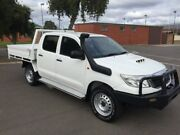 2014 Toyota Hilux KUN26R MY14 SR (4x4) 5 Speed Manual Dual Cab Chassis Clarence Gardens Mitcham Area Preview