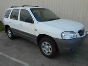 2001 Mazda Tribute Limited White 4 Speed Automatic Wagon Kippa-ring Redcliffe Area Preview