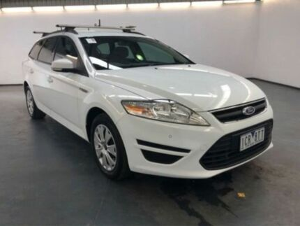2014 Ford Mondeo MC LX Tdci Frozen White 6 Speed Direct Shift Wagon Albion Brimbank Area Preview