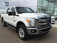 2011 F350 Lariat 6.7L Diesel 6Pass Loaded Leather! Low Payments!