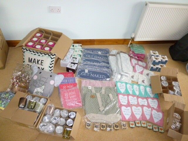 Job Lot Bundle Home and Gift Items Christmas Car Boot Market Stall