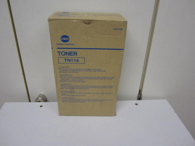 Original Toner Konica-Minolta TN114 (8937-784) für bizhub  162, 210, 211,Di152