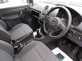 Volkswagen Caddy 1.6TDI 75PS VAN STARTLINE DIESEL MANUAL WHITE (2014)